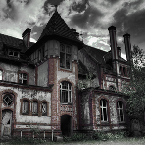 Old Victorian Haunted House