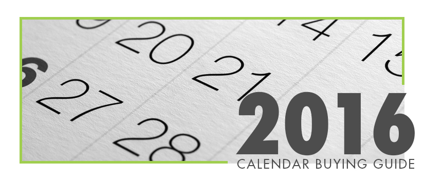 2016 Calendar Buying Guide