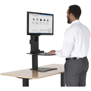Victor High Rise Sit-Stand Desk Converter