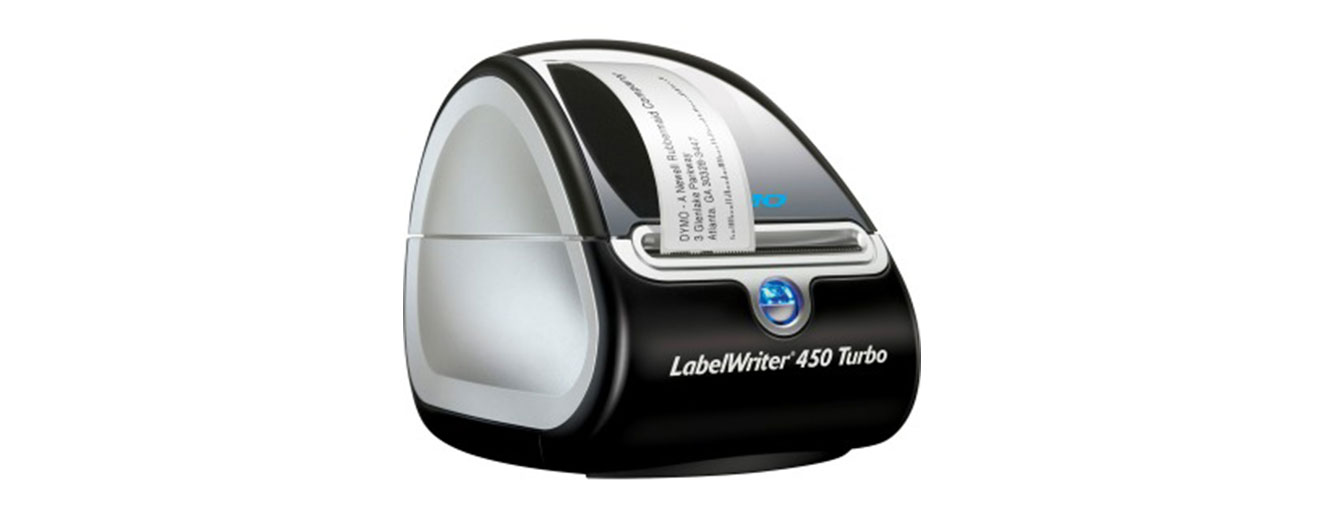 Label Writer 450 Turbo in black
