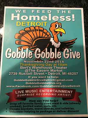 Gobble Give Flyer
