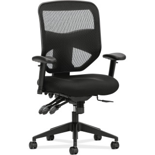 HON BASYX BY HON HVL532 MESH HIGH-BACK TASK CHAIR