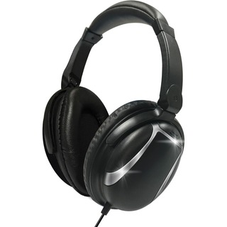 Black Sound-Cancelling Headphones from Maxell