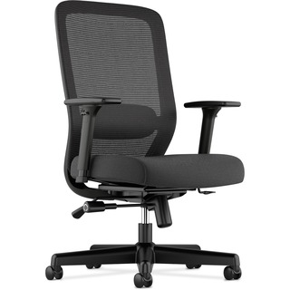 Black Mesh Task Chair With Lumbar Support