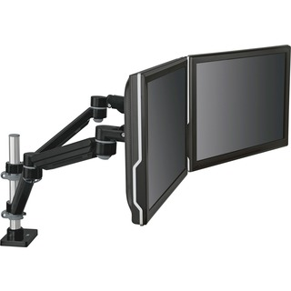 Dual Monitor Stand for Holding Up Two Computer Monitors
