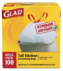 box of glad garbage bags