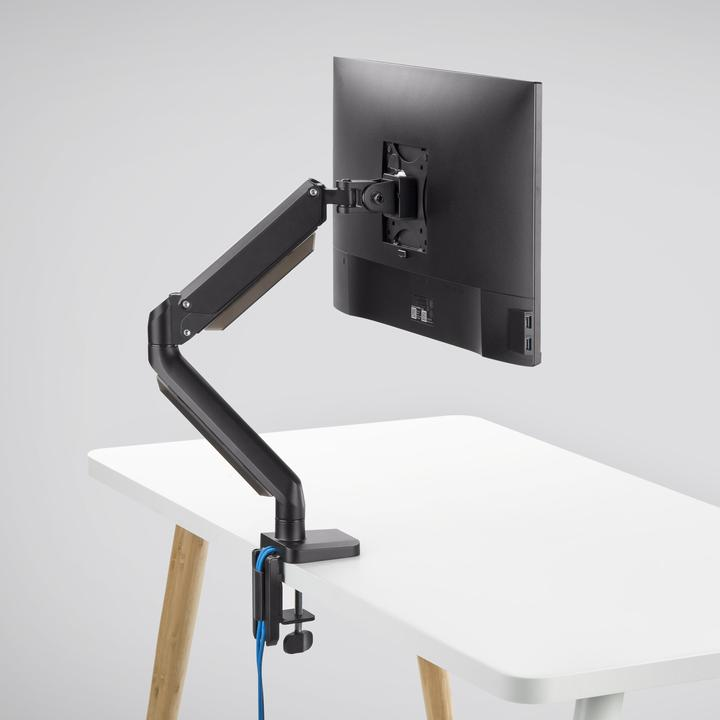 Mobio Single Monitor Mount in Black