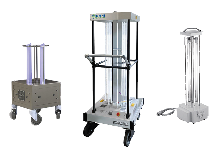 OMNI mobile surface disinfection unit